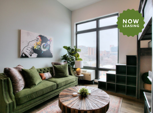 Now Leasing in Blackstone District