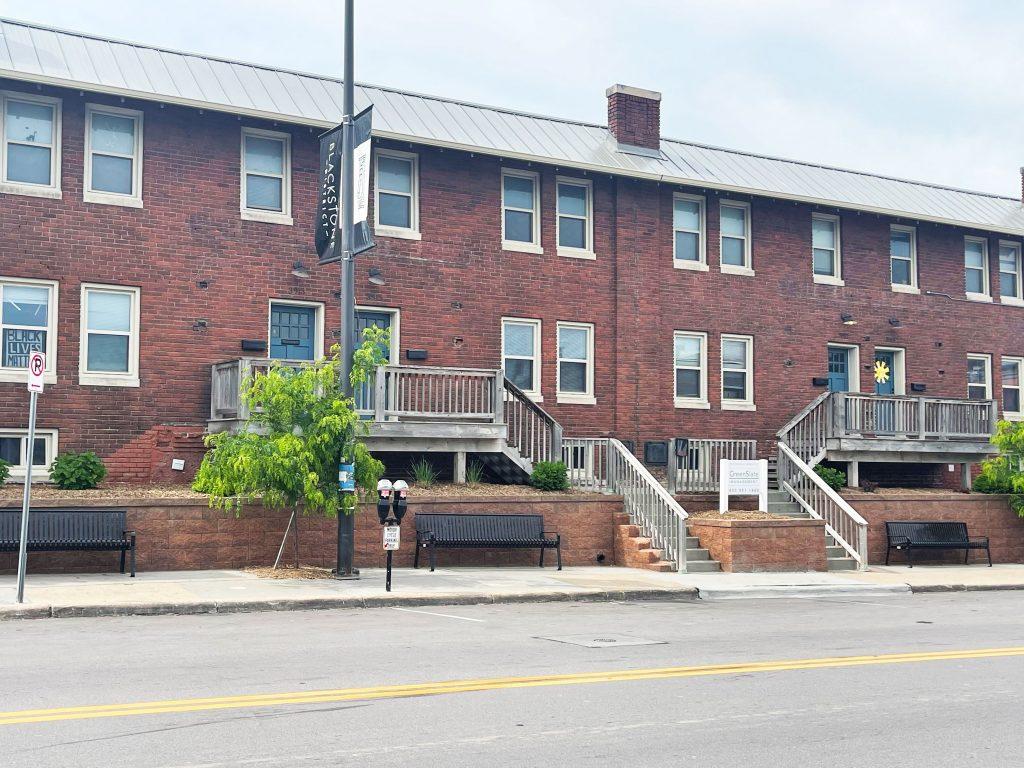Housing unit exterior in Blackstone